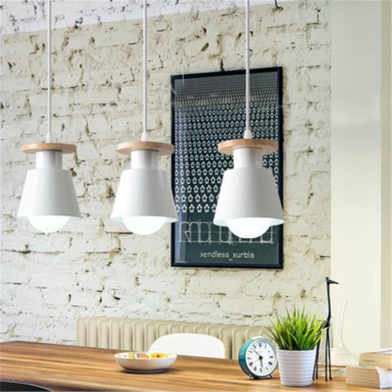 Nordic LED Pedant Light Modern Hanging Ceiling Lamp Chandelier For Home Indoor Kitchen Dinning Living Room Restaurant Cafe Store