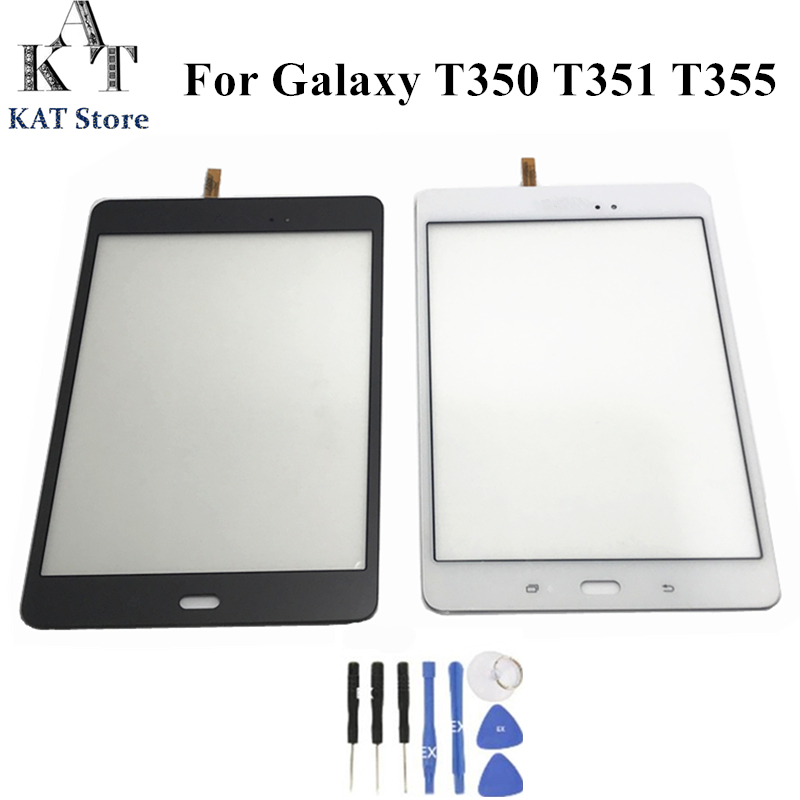 Lens Glass Touch Screen Digitizer For Samsung Galaxy Tab A 8.0 T350 Tools US