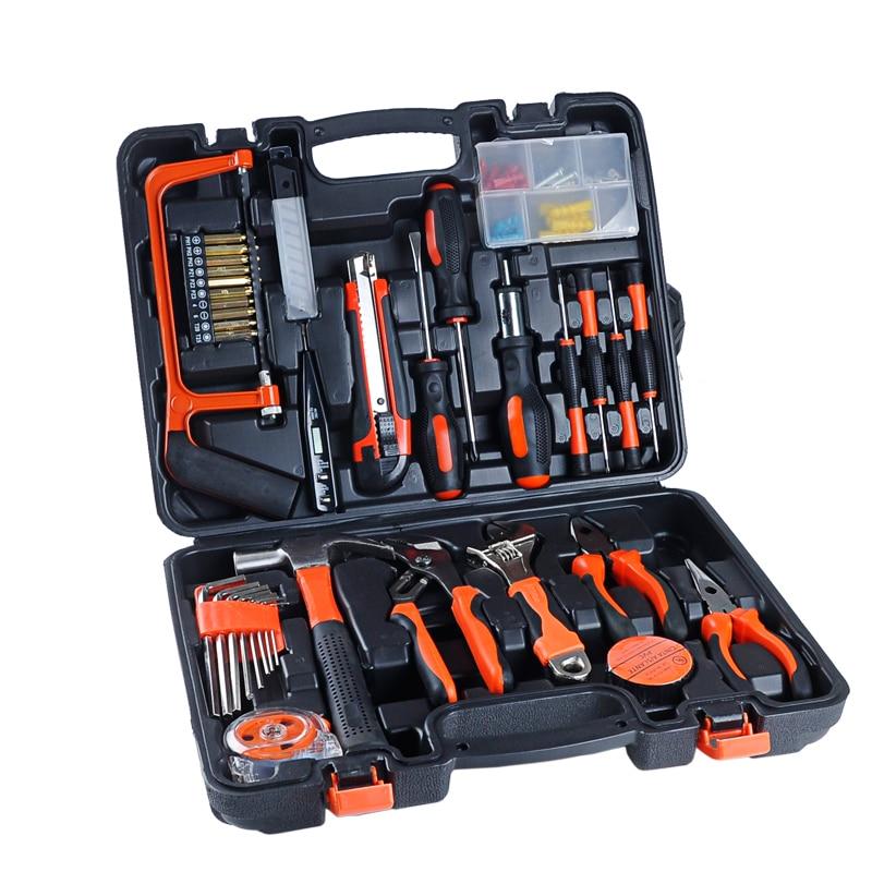 famiglia 100pcs strumenti combinati toolbox hardware multifunzione - Set di attrezzi - Fotografia 3