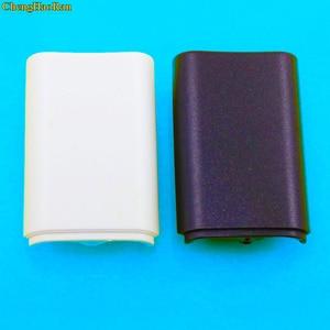 Image 2 - 50 sztuk/partia dla Xbox360 kontroler gier zestaw baterii pokrywa Shell tarcza Case Kit dla Xbox 360 bezprzewodowy kontroler baterii Shell