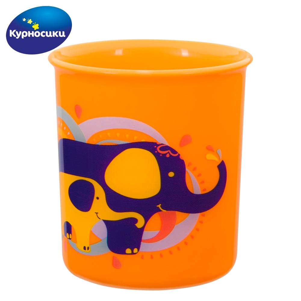 Cups KURNOSIKI 17123 Cup mug for children drawing