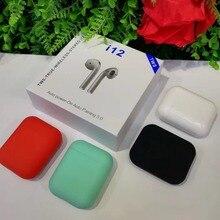 TWS i12 5,0 Беспроводные наушники с сенсорным управлением наушники для iphone гарнитура TWS bluetooth наушники