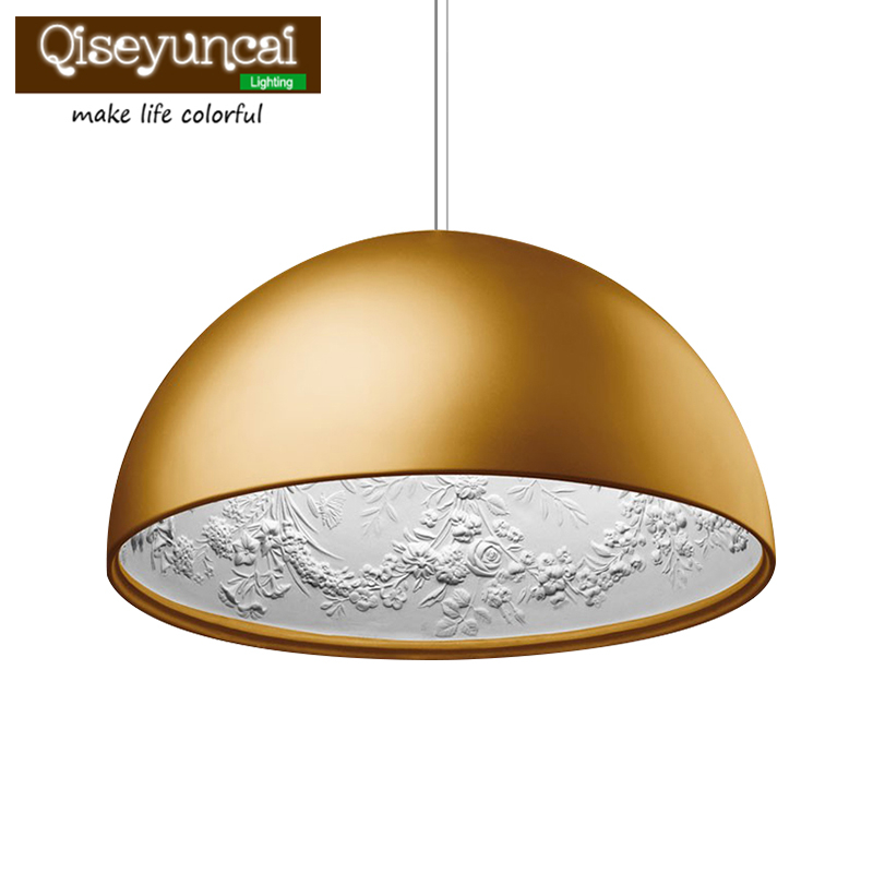 Qiseyuncai Modern Minimalism FRP Resin Material E27 Pendant Light Marcel Wanders Internal Pattern Sky garden Led Hanging Light furuyama m ando modern minimalism with a japanese touch taschen basic architecture series
