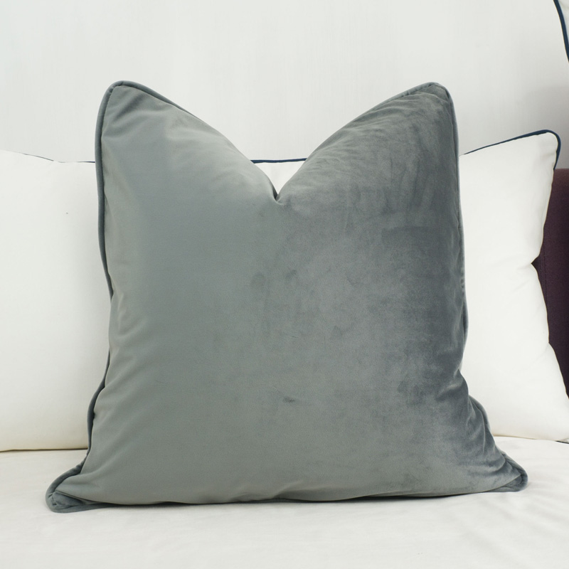 grey pillow homeaddress velvet cushions cushion products mid mauve gray