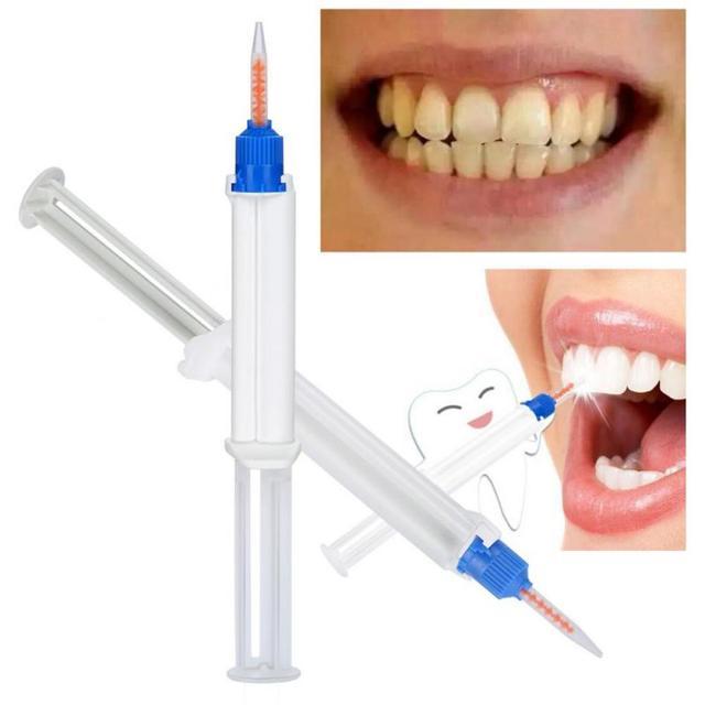 Ml 35 Hydrogen Peroxide Double Barrel Dentaling Oral Care Teeth Whitening Gel Oral Dental Teeth Whitening Set