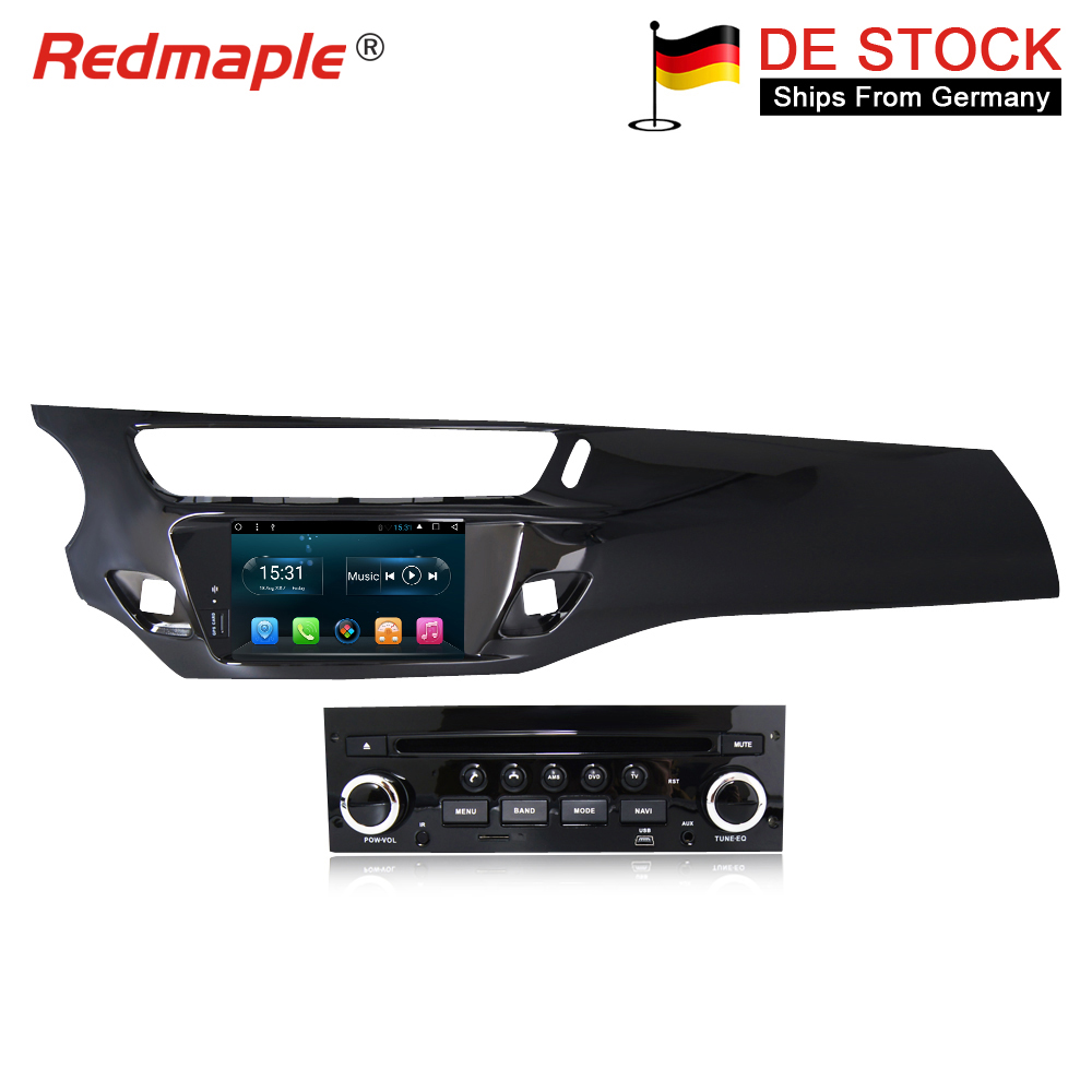 Octa Core Android8.1 Car Radio GPS DVD Multimedia Player Stereo For Citroen C3 DS3 2010 2016 Auto Audio Navigation HeadUnit