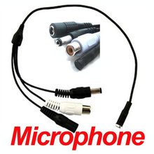 New Mic Audio CCTV Microphone for Security Cameras DVRs a47