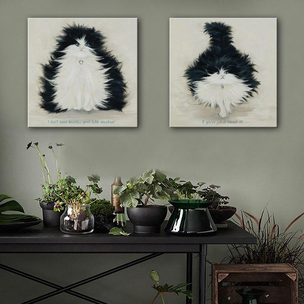 Hoge kwaliteit groothandel schilderen zwarte kat van chinese ...