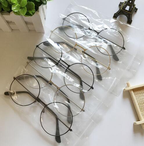 2019 Mode Frauen Gläser Rahmen Männer Brillen Rahmen Vintage Runde Klare Linse Gläser Optische Spektakel Rahmen Elegant Und Anmutig