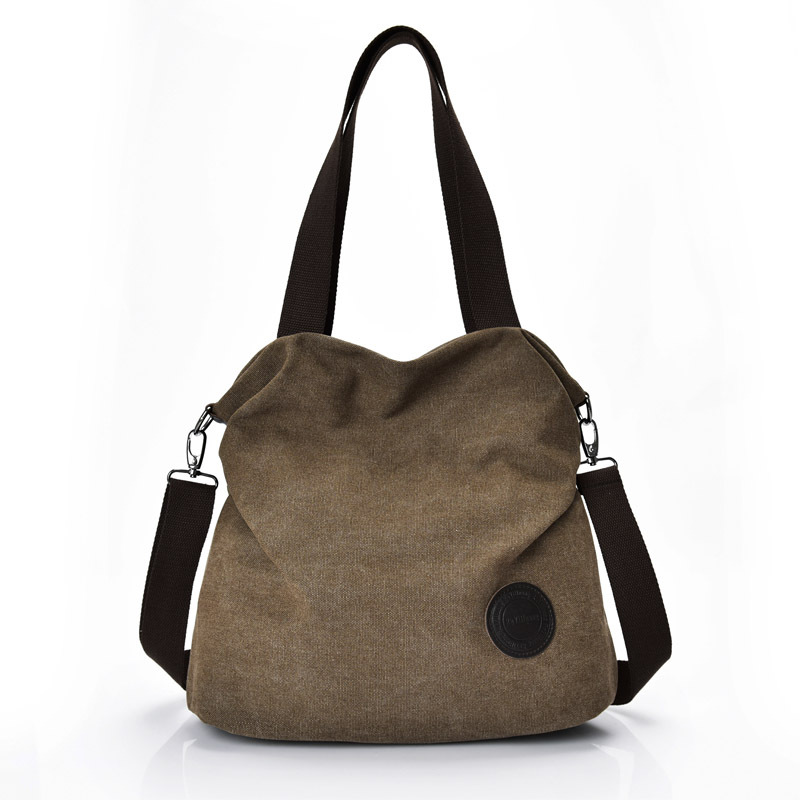 nwe color Female bag Contracted the canvas hand the , Large capacity much interlayer canvas bag NF 20OZ
