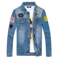 Men S Cowboy Long Sleeve Jacket Casual Jacket New Style Fashion Slim Comfortable Choice Big Size