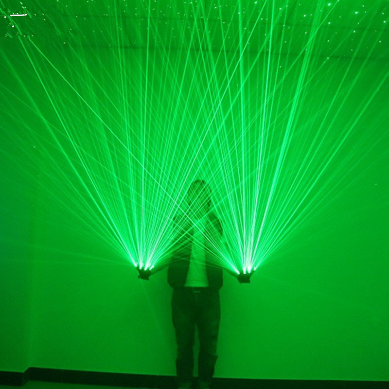 Green Laser Gloves Dancing Stage Show Light With 4 pcs lasers and LED palm light for DJ Club/Party/Bars gurkirat sandhu paramjit kaur khinda and amarjit singh gill lasers in periodontics