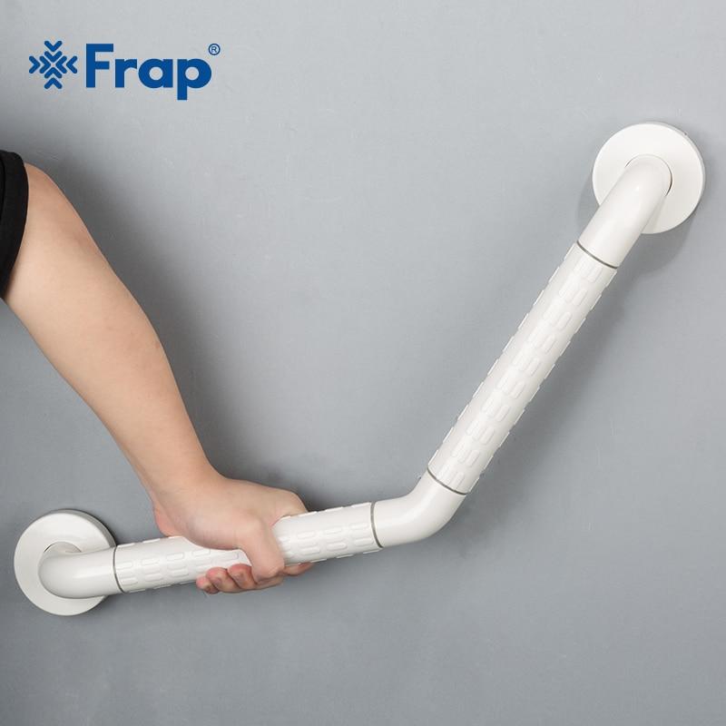 Frap New  Bathroom Bathtub Arm Safety Handle Grip Bath Shower Tub Grab Bar Stainless Steel Anti Slip Handle Grap Bar F8121