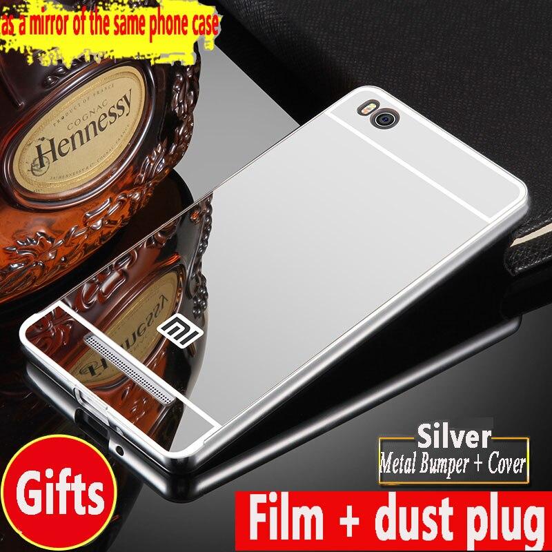 super popular 01e56 bca13 US $2.08 13% OFF Luxury Aluminum For xiaomi redmi 4A Phone case Metal Frame  Acrylic Mirror Back Cover Hongmi 4a For Xiaomi Redmi 4A Case 5.0 inch-in ...