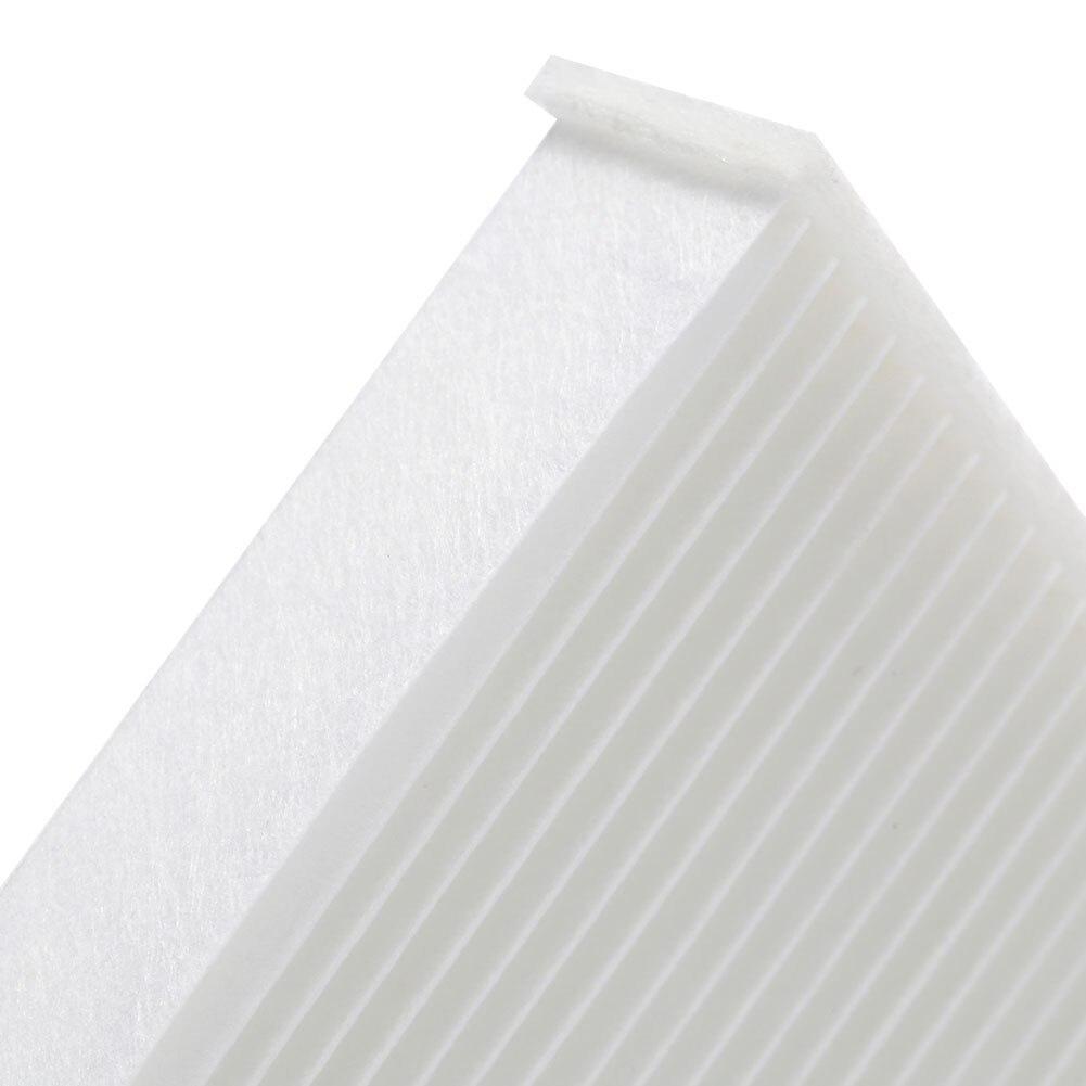 Белый воздушный фильтр салона автомобиля с активированным углем, волоконный воздушный фильтр автомобиля, прочный чистящий двигатель для Honda 80292-SDA-A01