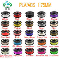 2019 Top 3D Printer Filament 1.75 kg PLA 1/bas de plástico de Borracha de Materiais Consumíveis