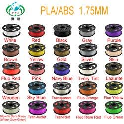 JURUI PLA/ABS 3d принтер накаливания нагреватель 1,75 1 кг/рулон PLA/ABS 3d принтер катушки