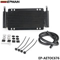 "EPMAN Racing Car Series 8000 Type 10-1/8"" 9 Row Aluminum Plate & Fin Transmission Oil Cooler EP-AETOC676"