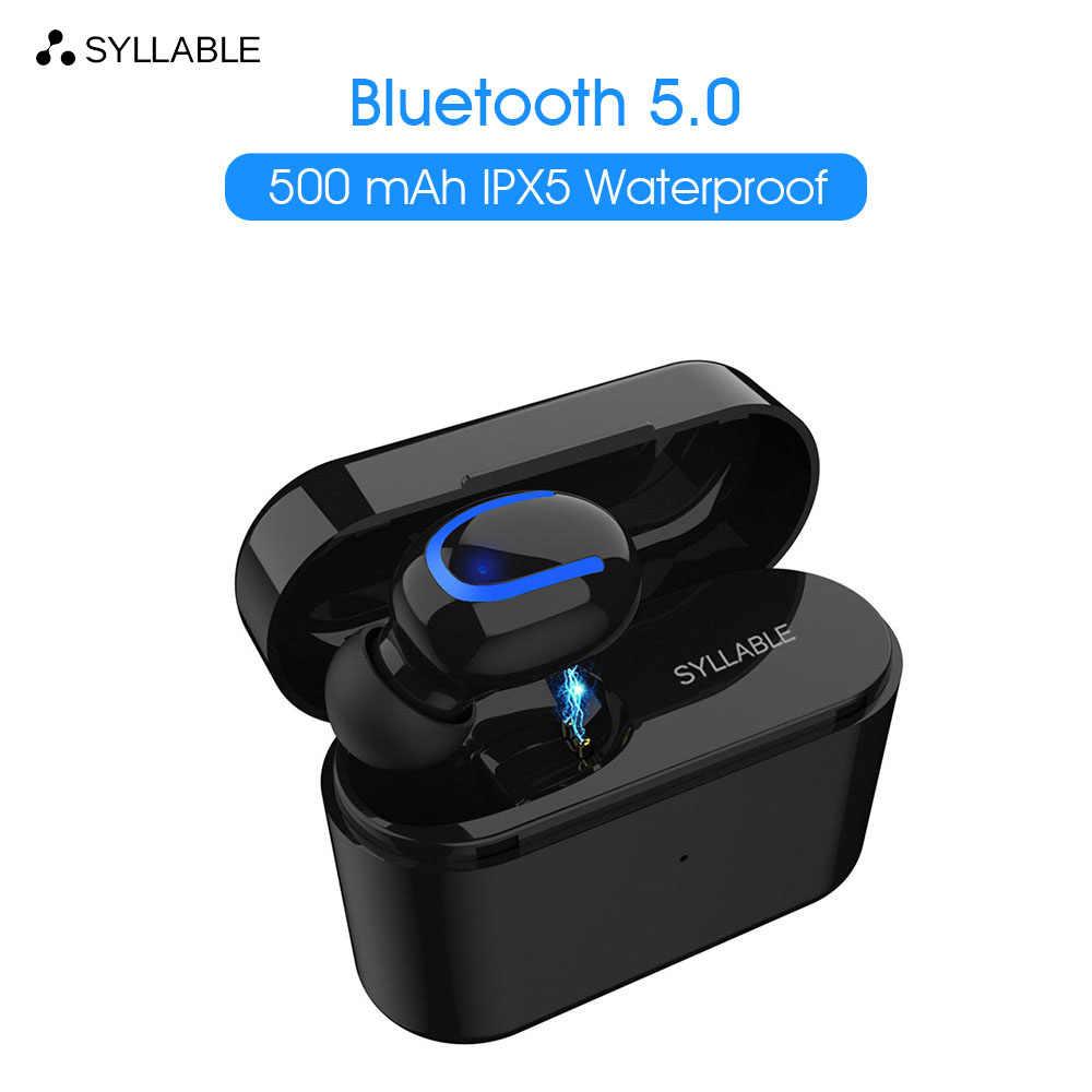 Oryginalny sylaba Q26 pojedyncze opakowanie bluetooth V5.0 zestaw słuchawkowy dla androida IOS bezprzewodowy słuchawka sportowa Q26 słuchawki stereo