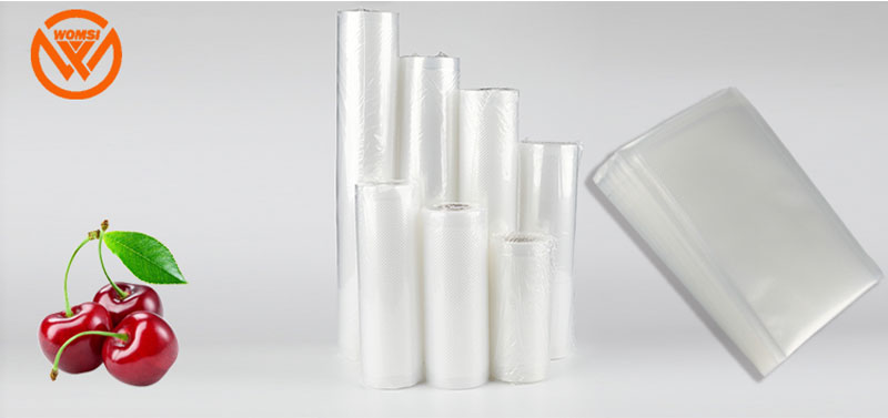 Vacuum Food Saver Bags Roll Food Storage Bags Dot Texture-Bag Wraps Plastic Bags