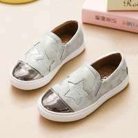 2017 Spring Children S Footwear Glowing Sneaker Shoes Kids Girls Casual Boys Moccasin Shoes With Star