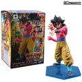 Dragon Ball Z Heroes Super Saiyan 4 Son Goku Figure With Card Collectible Model Toy Boys Girls Christmas Gift Adornment CSL14