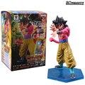 Heróis De Dragon Ball Z Super Saiyan 4 Goku Figura com Cartão Collectible Modelo Toy Meninos Das Meninas Presente de Natal Adorno CSL14