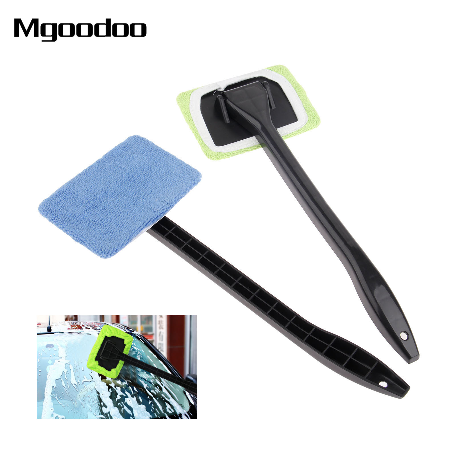 New Microfiber Auto Window Cleaner Windshield Fast Easy Cleaner Brush Handy Washable Cleaning Tool High Quality Cleaning Brushes