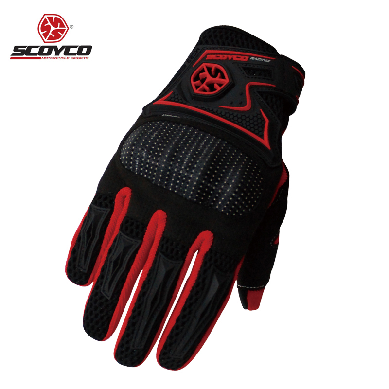 <font><b>SCOYCO</b></font> <font><b>Motorcycle</b></font> <font><b>Gloves</b></font> Leather <font><b>Full</b></font> <font><b>Finger</b></font> Sport Racing Motocross Protective Gear Breathable <font><b>Gloves</b></font> <font><b>Luvas</b></font> Motocicleta <font><b>Guantes</b></font>