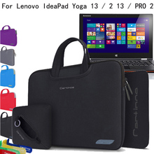 """For Lenovo Yoga three Professional/ Yoga three 14/ PRO 2 13 13.three"""" Laptop computer Four-in-1 Neoprene Pores and skin Sleeve Carrying Case Briefcase Bag Pouch Cowl"""