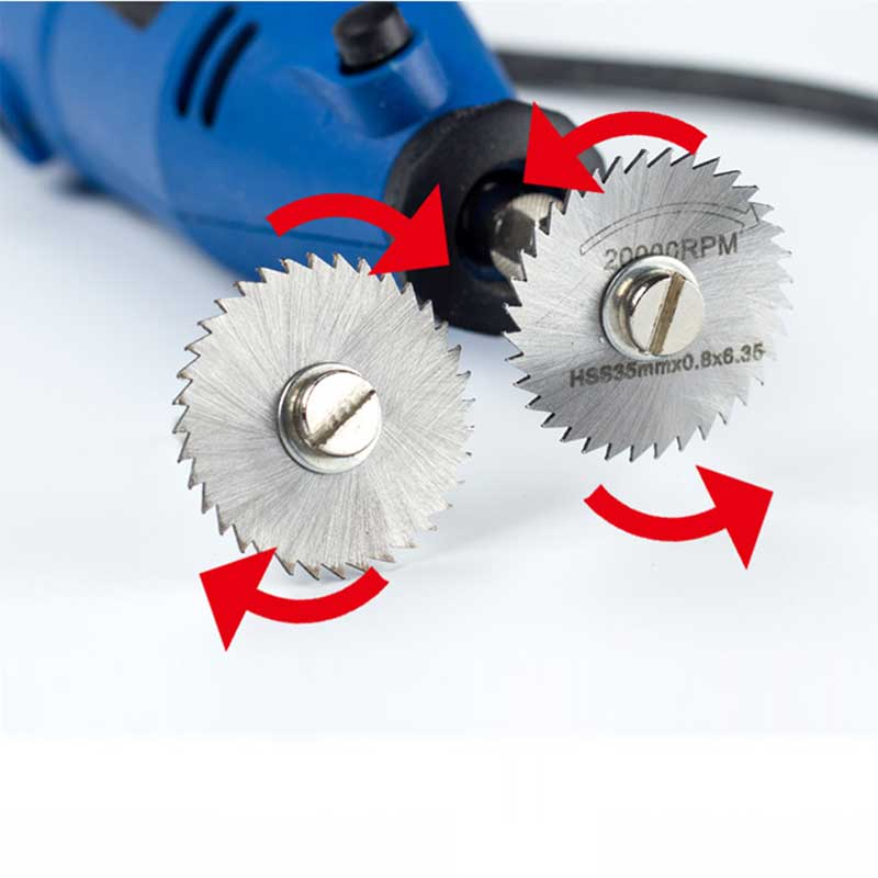 Medienos PVC vamzdžių minkšto metalo pjovimo diskas Skersmuo - Abrazyviniai įrankiai - Nuotrauka 5