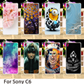 Soft Smartphone Cases For SONY Xperia C6 Xperia XA Ultra F3212 F3216 6.0 inch Minions Hard Back Cover Skin Housing Sheath Bag