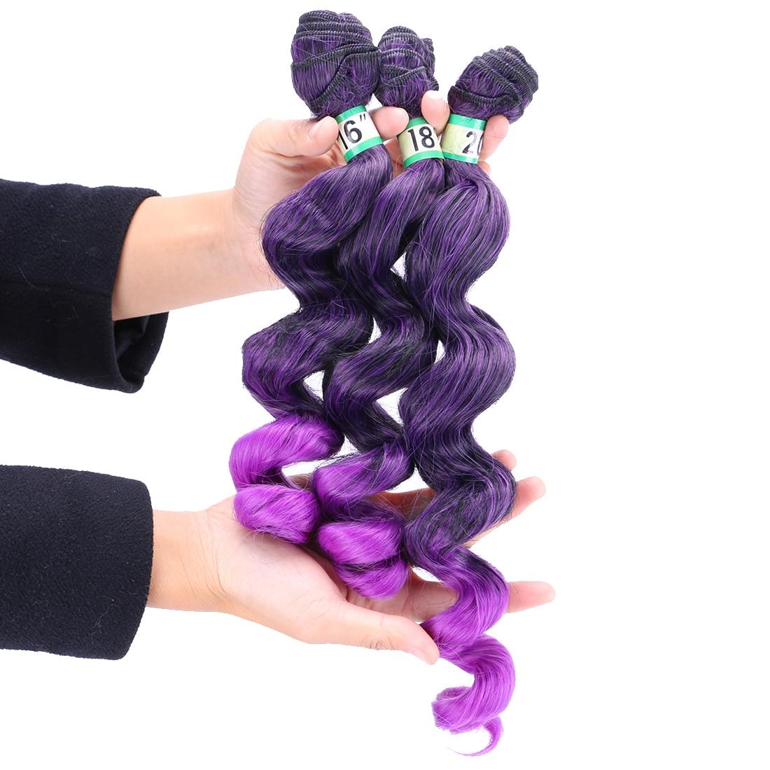 de Alta temperatura pacote de cabelo para as mulheres negras