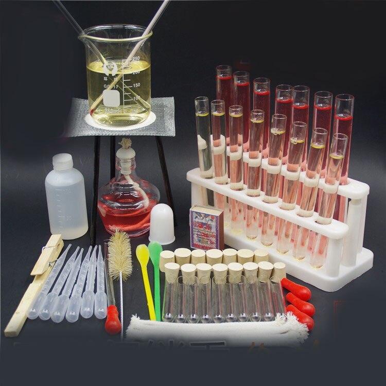 alcohol lamp tripod stand tube rack beaker dropper chemistry experiment teaching instrument laboratory equipment