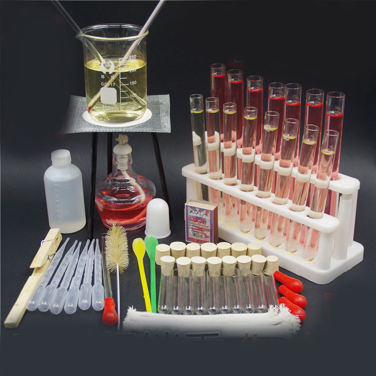 alcohol lamp tripod stand tube rack beaker dropper chemistry experiment teaching instrument laboratory equipment-in Educational Equipment from Office & School Supplies    1