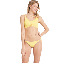 Adriana Arango Swimwear for Women Solid Bikini Front Knot Swimsuit Sexy Summer Beachwear Sport Style Biquini Bathing Suit
