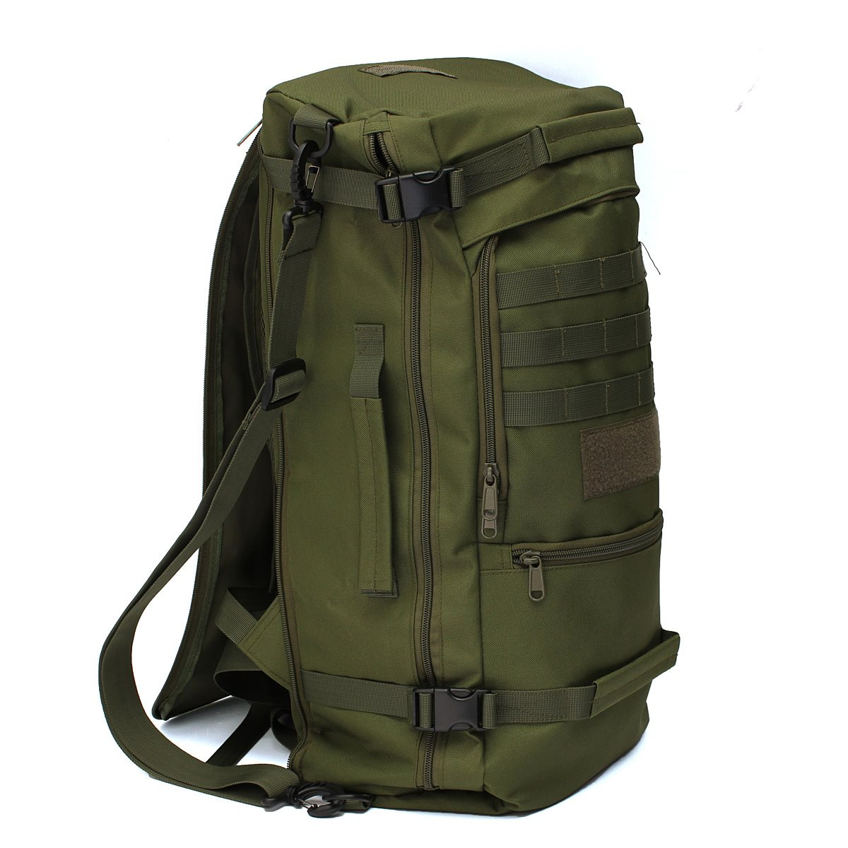 High quality 50L Canvas Outdoor sports Military Tactical Rucksack ...