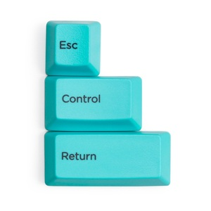Image 4 - Esc制御リターンスペースバー容量キーボードキーキャップpbt昇華のためのカラフルなキーキャップtopreリアル力hhkbキーボード