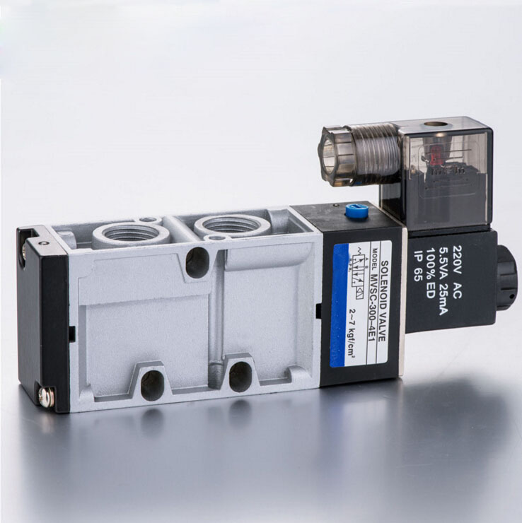 3/8 MVSC300 series mindman solenoid valve single solenoid air solenoid valve 2 3way 3v310 10 inner guide single head solenoid valve 3 8 china factory 3v series solenoid valve3v310 10