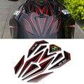 Universal 3d reflectante sticker motorcycle fuel tank protector pad cubierta decoración decal para honda suzuki yamaha kawasaki ktm