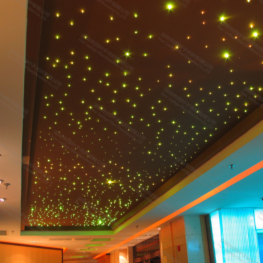 Mix use 0.75 1mm fiber optic home ceiling star decorative light for ...