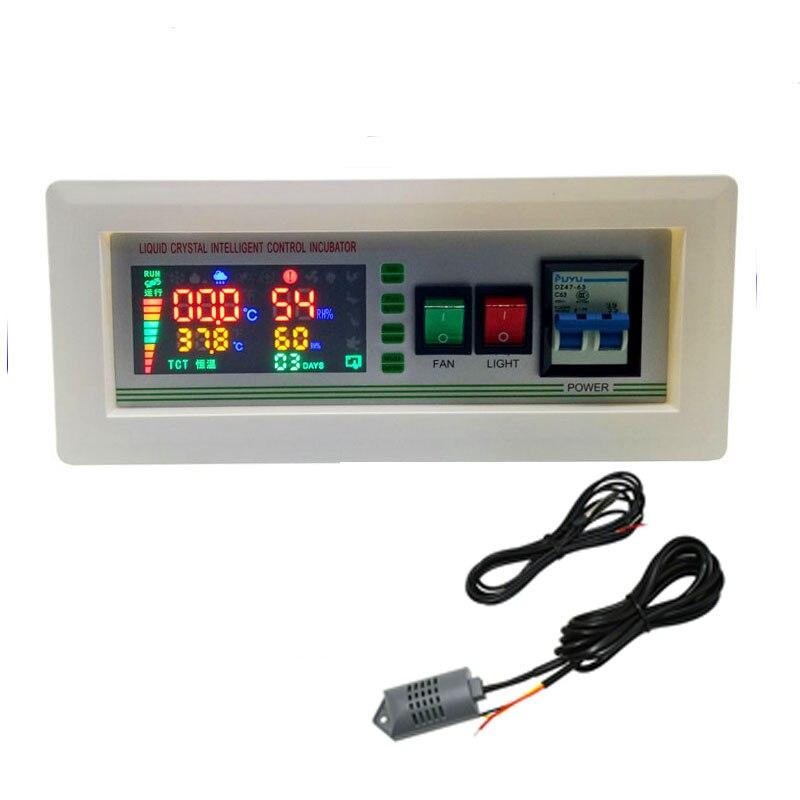 Inkubator xm 18SD Inkubator Controller Thermostat Voll Automatische Und Multifunktions Ei Inkubator Steuerung 1 set-in Taschen & Zubehör aus Heim und Garten bei  Gruppe 3