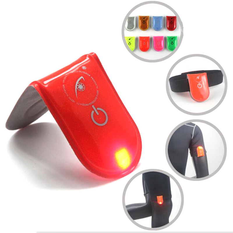 Mountain Bike Light Cycling Light LED Safety Light Reflective Magnet Clip On Strobe Running Walking Bike Cycling Lamp