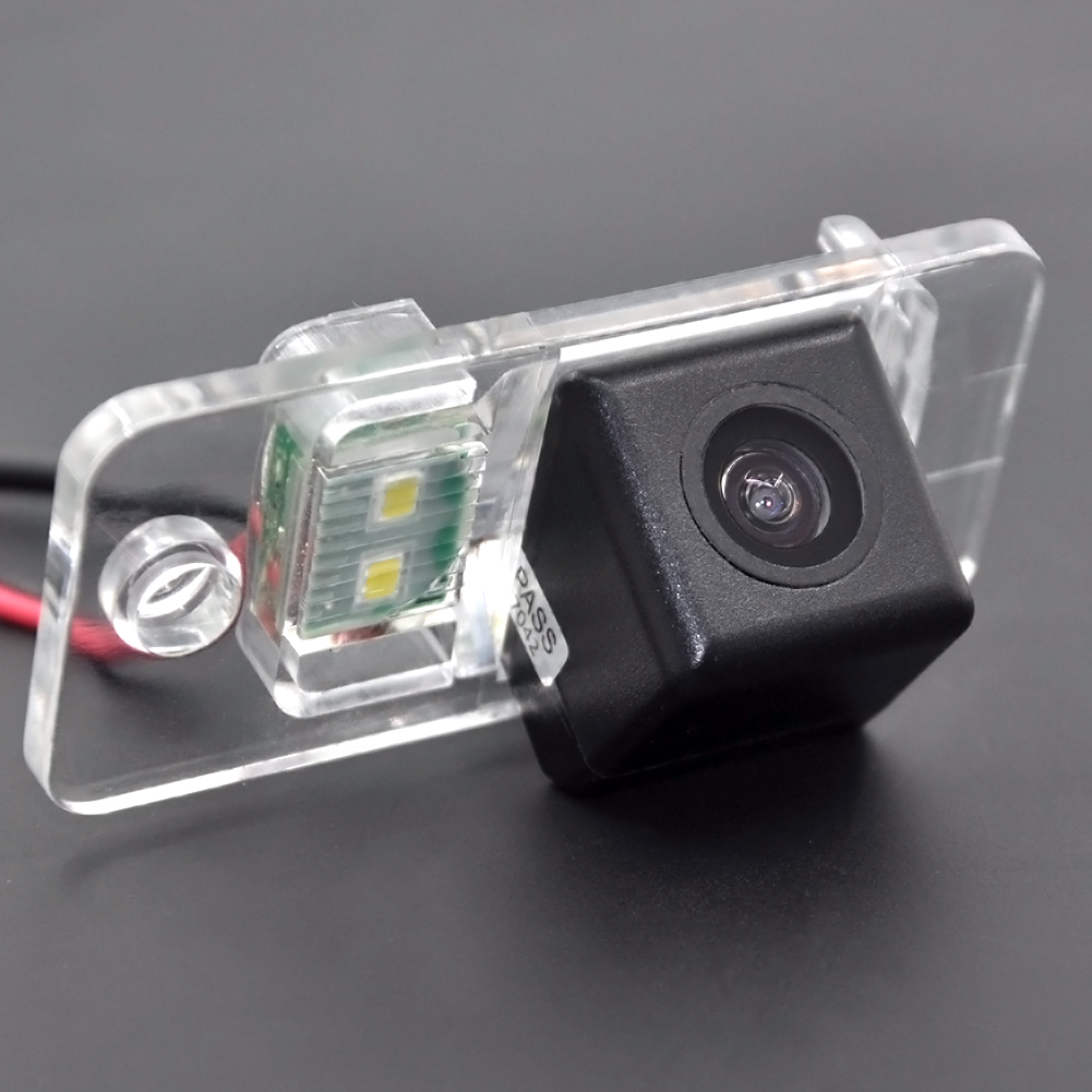 ︻CCD HD 4 LEDS Car rear view parking Camera for Audi A8 A6 A4 ...