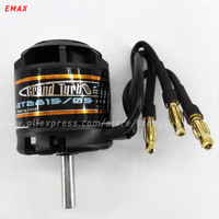 EMAX rc electric brushless motor airplane 1500kv 1280kv outrunner GT series 5mm shaft 2 3s for aircraft electric vehicle