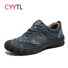 CYYTL Fashion Men Outdoor Sports Shoes Winter Sneakers Male Hiking Waterproof Tractical Trekking Boots Mountain Chaussures Homme