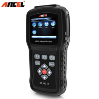 Ancel AD610 Car Diagnostic Tool OBD2 OBD 2 Code Reader Engine ABS SRS Airbag Air Bag SAS Crash Data Reset OBD Automotive Scanner