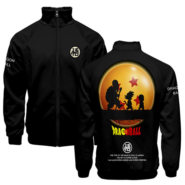 3D  Dragon Ball Goku Harajuku Hoodies 3