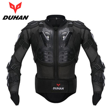 Duhan motorcross spine chest armor guards racing riding gear protective jacket