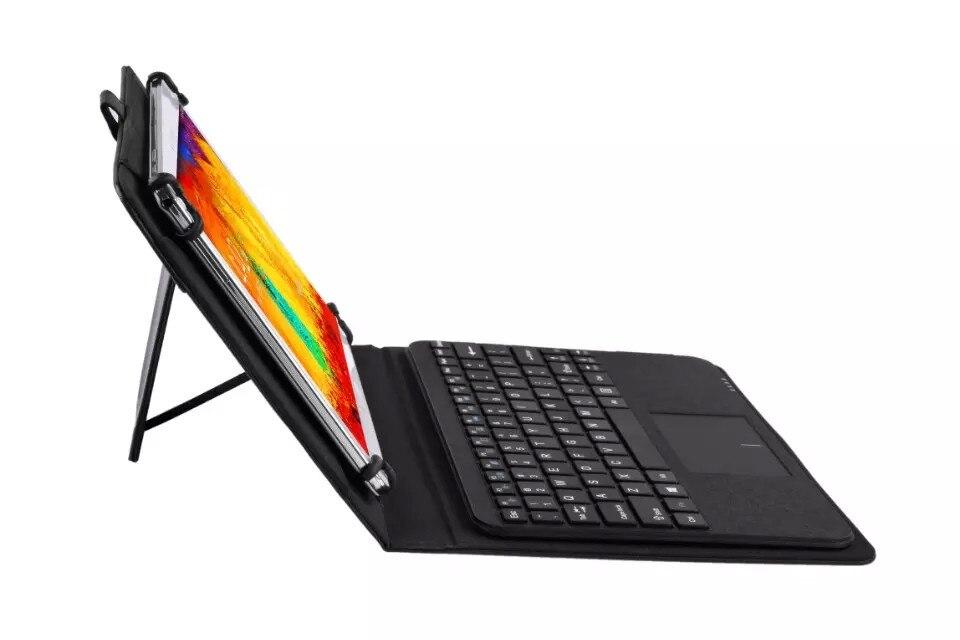 Toxunuş paneli ilə ayrıla bilən simsiz Bluetooth klaviaturası - Planşet aksesuarları - Fotoqrafiya 6